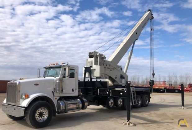 National NBT55-102 50-ton Boom Truck Crane on Peterbilt 367 4