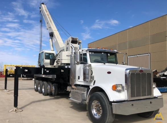 National NBT55-102 50-ton Boom Truck Crane on Peterbilt 367 5