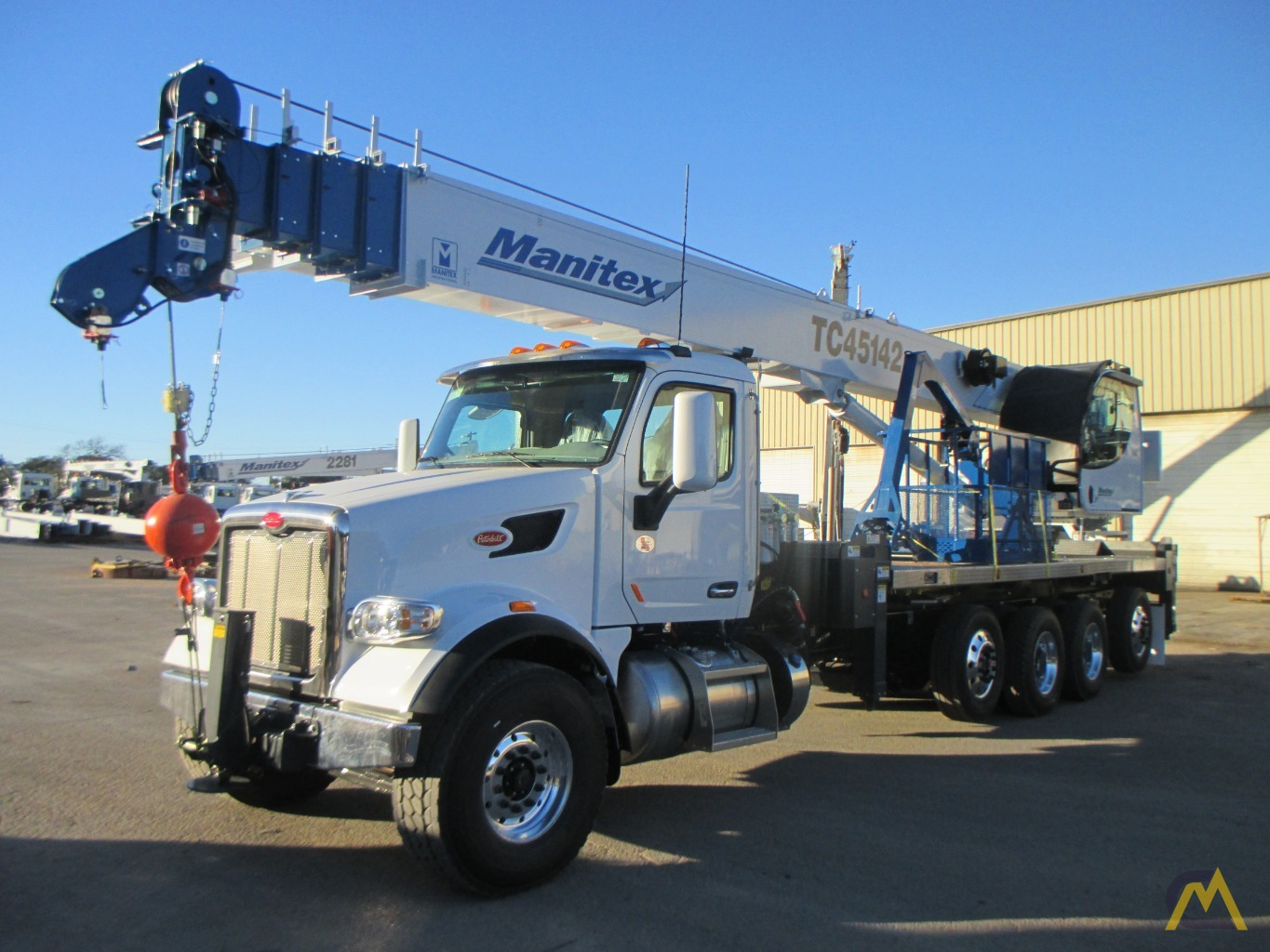 2019 Manitex TC45142 45-Ton Boom Truck Crane For Sale Trucks