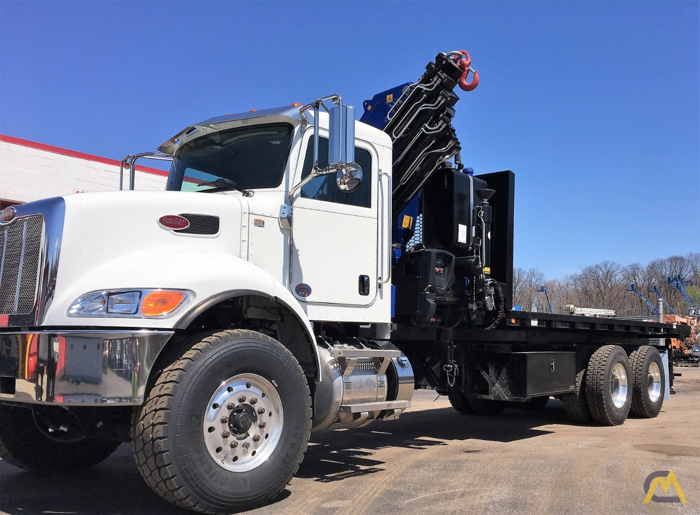 NEW 2019 PM 38528 SP GOLD Knuckle Boom Crane 7