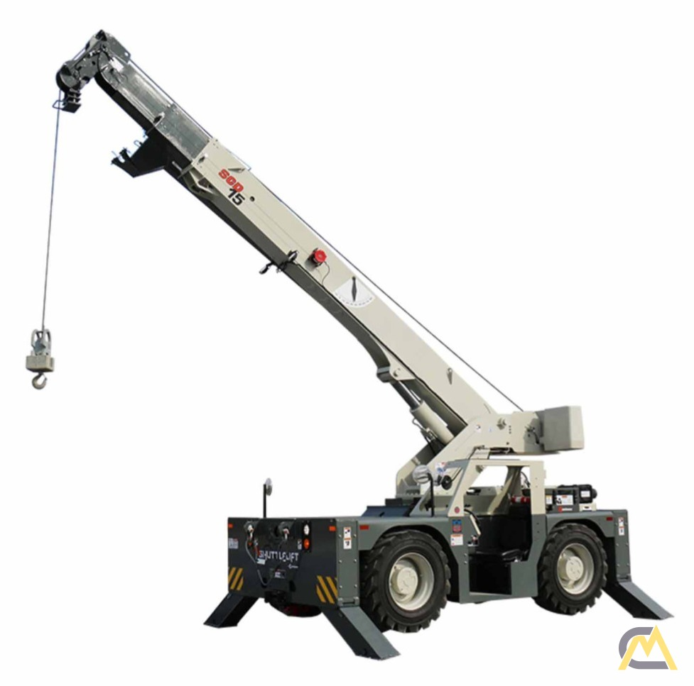 NEW 2020 Shuttlelift SCD15 15-Ton Carry Deck Crane 0