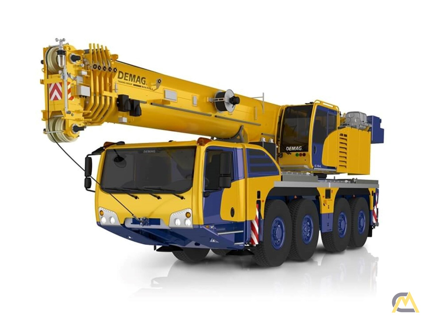 NEW 2021 Tadano Demag AC 100-4L 120-Ton All Terrain Crane 0