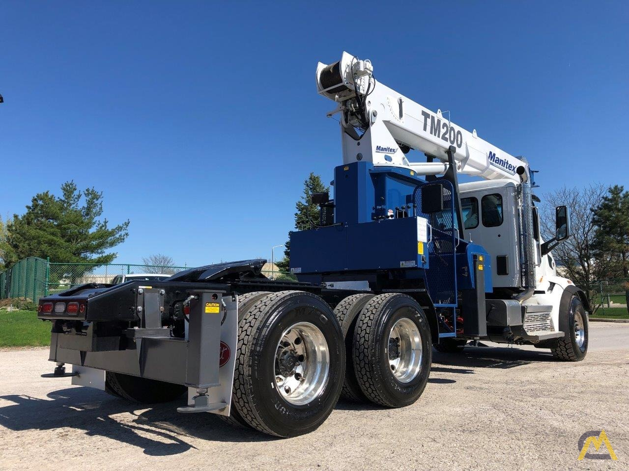 NEW Manitex TM200 mounted on NEW 2019 Peterbilt 567 Tractor 2