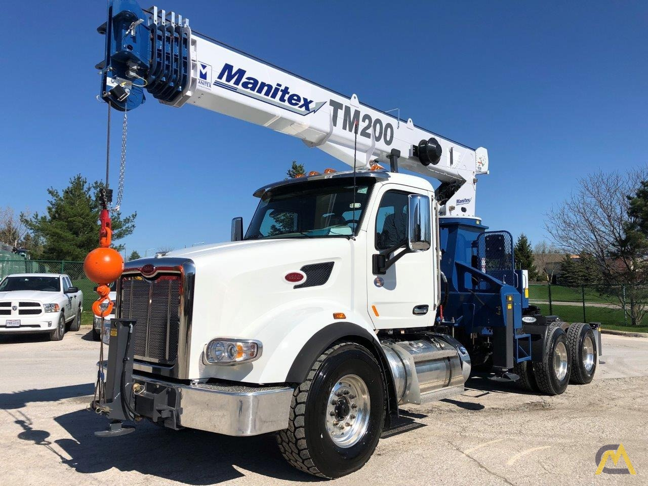 NEW Manitex TM200 mounted on NEW 2019 Peterbilt 567 Tractor 4