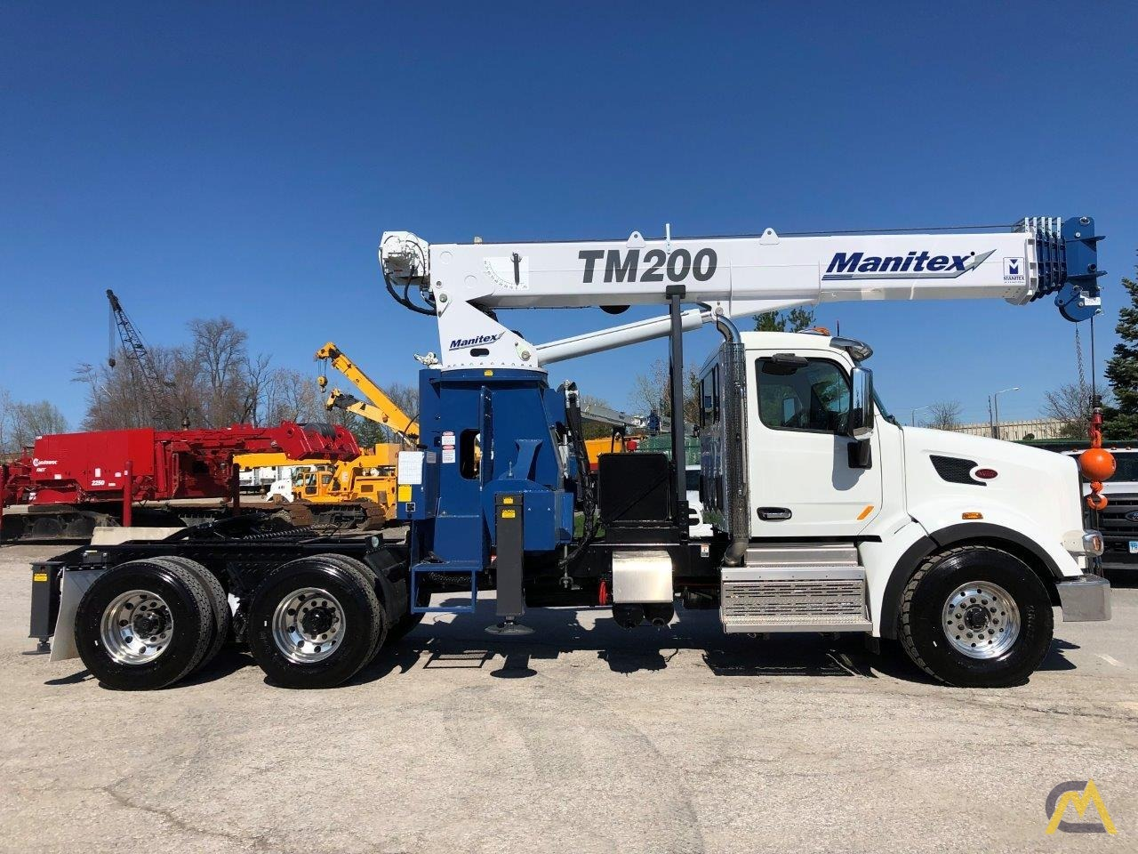 NEW Manitex TM200 mounted on NEW 2019 Peterbilt 567 Tractor 1