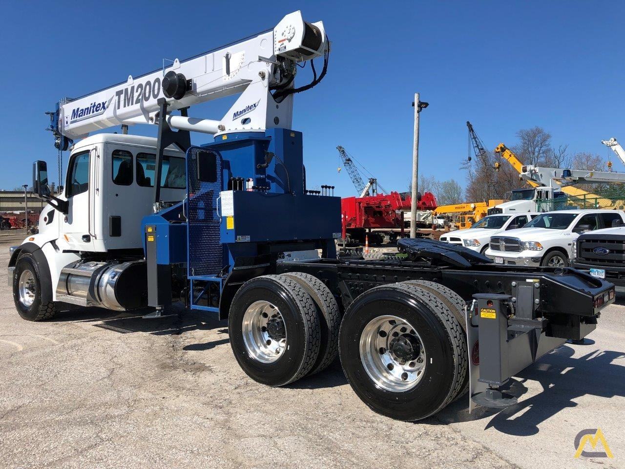 NEW Manitex TM200 mounted on NEW 2019 Peterbilt 567 Tractor 6