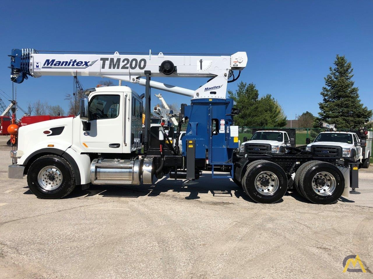NEW Manitex TM200 mounted on NEW 2019 Peterbilt 567 Tractor 5