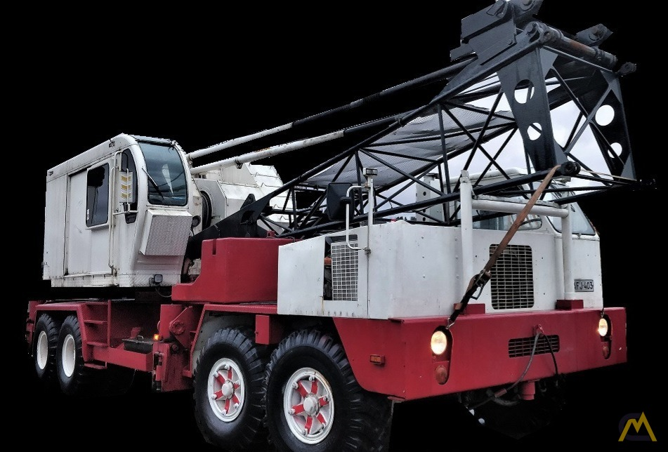 P&H 650A-TC 50-Ton Lattice Boom Truck Crane 0