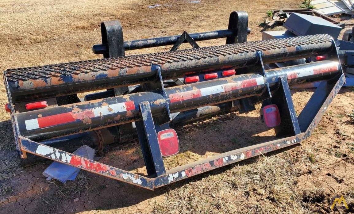 Palfinger PK 12000 7.5-ton Articulating Knuckle Boom Crane on Flatbed Ready to Mount 10