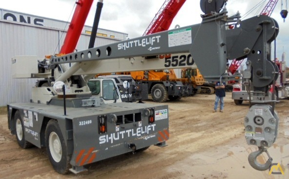 Shuttlelift CD5520 20-Ton Industrial Carry Deck Crane For Sale or Rent