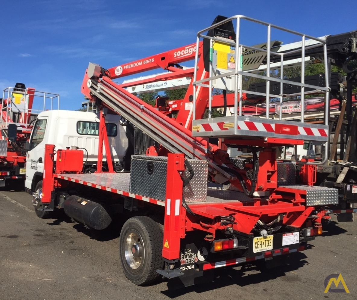 Socage Freedom 60/36 .15-Ton Aerial Man Lift 3
