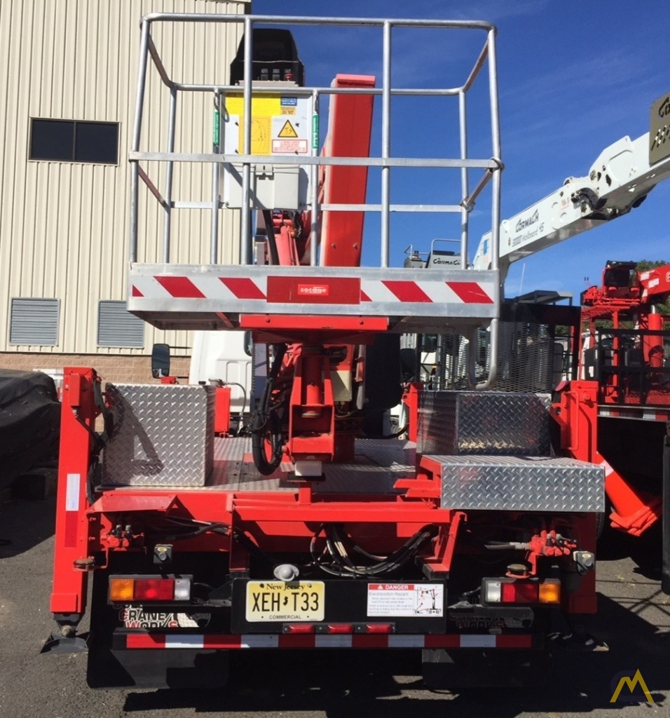 Socage Freedom 60/36 .15-Ton Aerial Man Lift 4