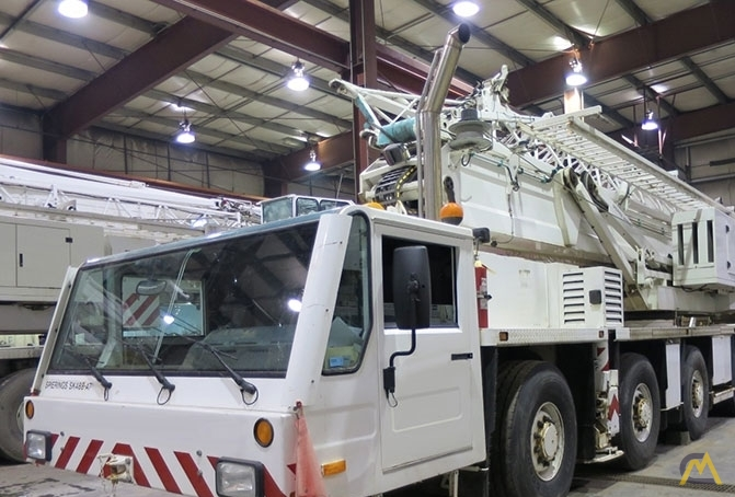 Spierings SK488-AT4 8-Ton Self Erecting Truck Mounted Tower Crane 0