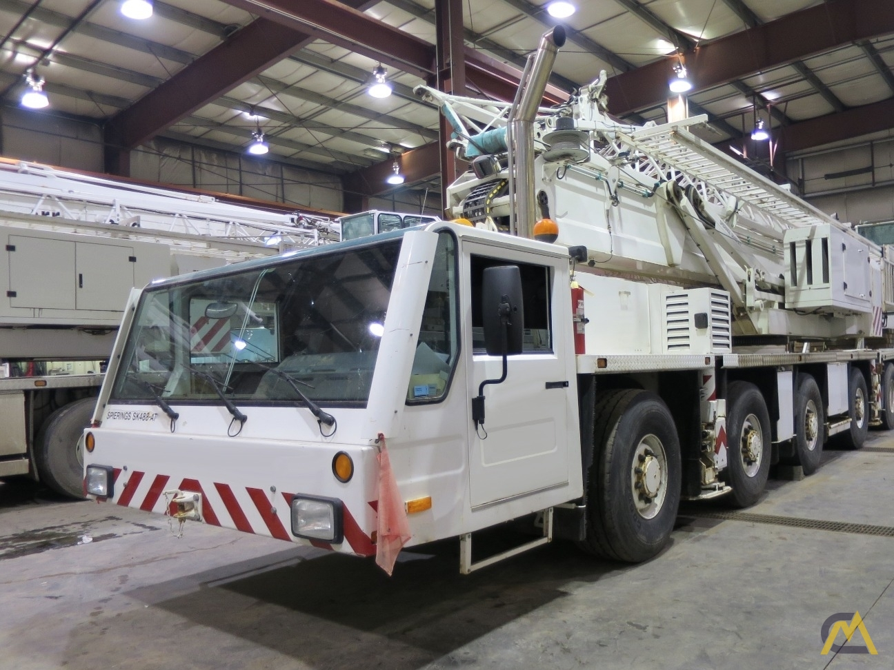 Spierings SK488-AT4 8-Ton Self Erecting Truck Mounted Tower Crane 5