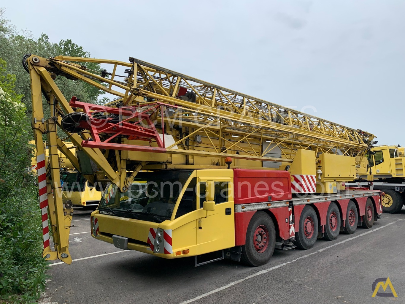 Spierings SK599-AT5 9-Ton Truck Mounted Self Erecting Mobile Tower Crane 0