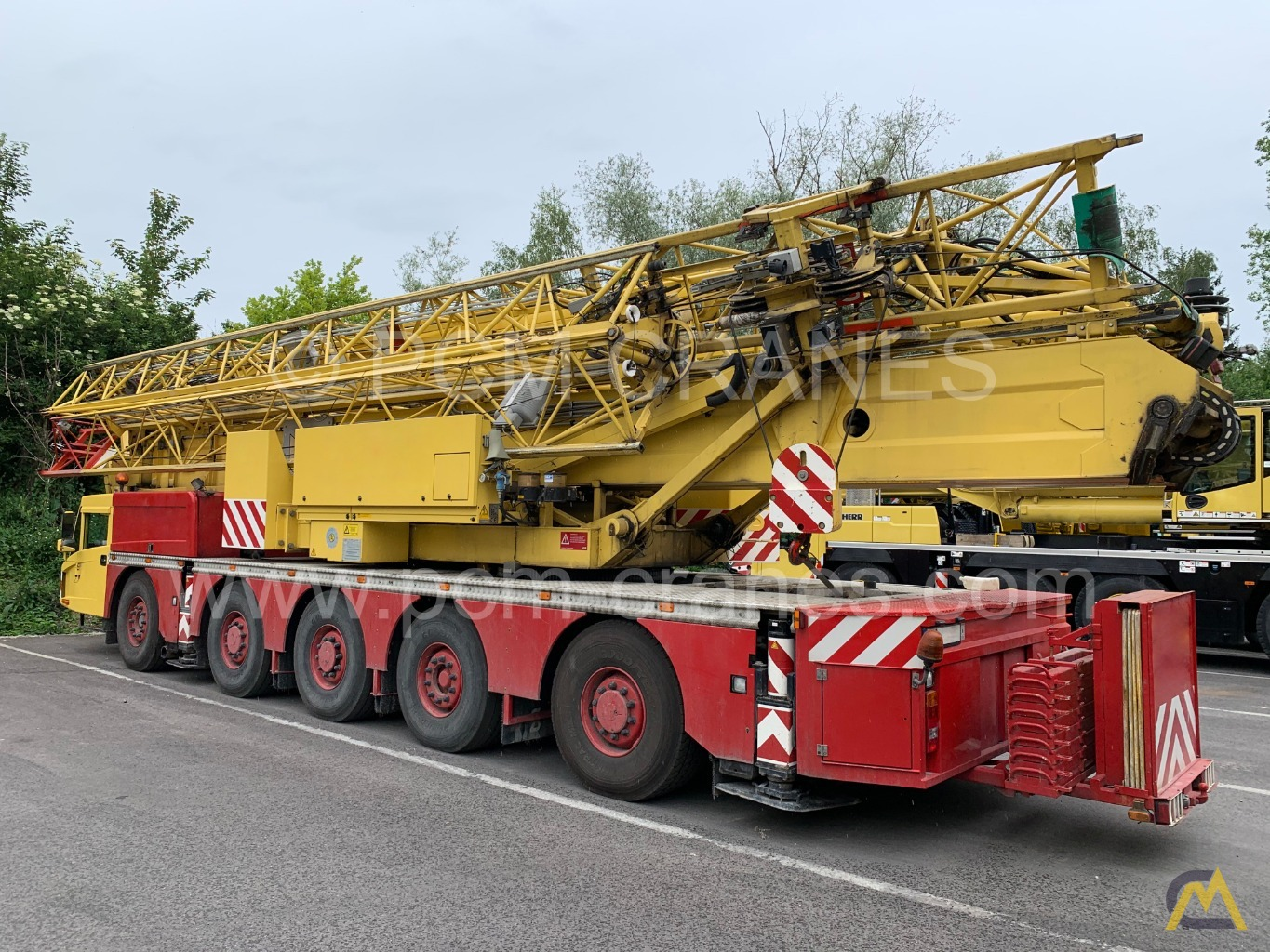 Spierings SK599-AT5 9-Ton Truck Mounted Self Erecting Mobile Tower Crane 1