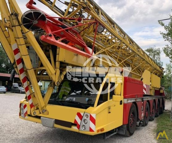 Spierings SK599-AT5 9-Ton Truck Mounted Tower Crane 0