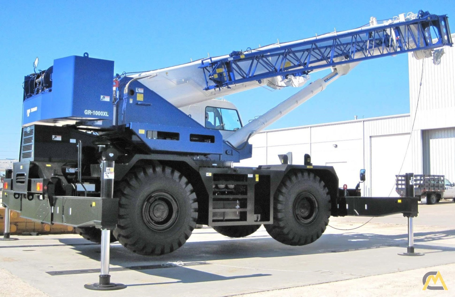 Tadano GR-1000XL-3 100-Ton Rough Terrain Crane For Sale or Rent & Material  Handlers 6972 CraneMarket