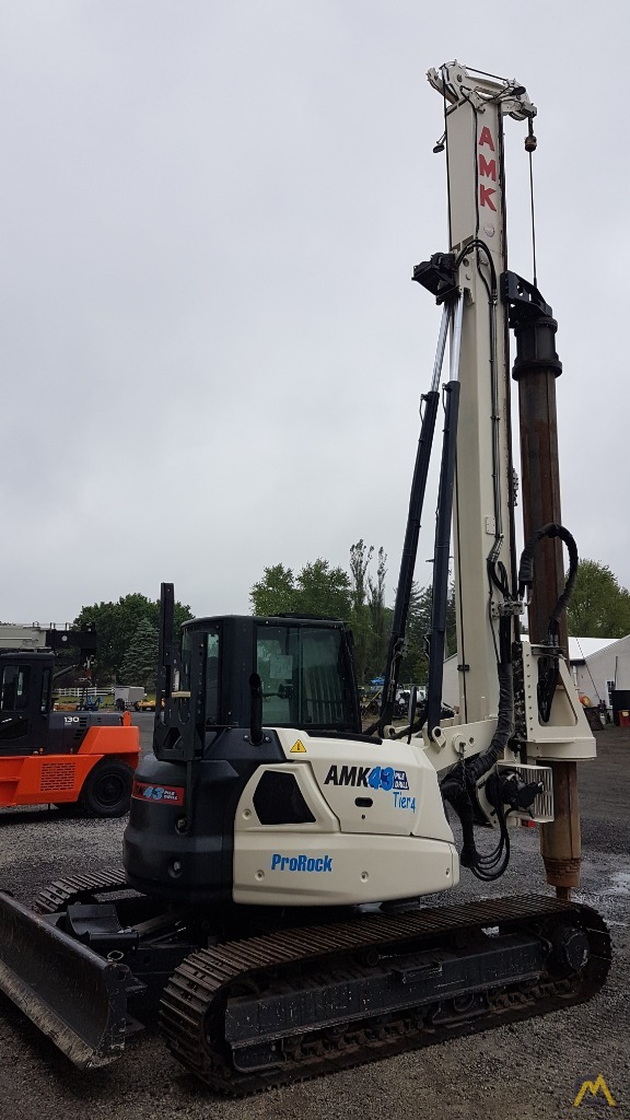 Tecop AMK 43 CF3-TES CAR Restricted Access Piling Foundation Rig TESCAR CF3 PLUS 1