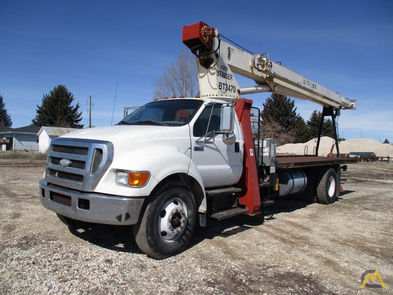 Ford F750 For Sale >> Terex Bt 3470 17 Ton Boom Truck Crane On Ford F750 For Sale