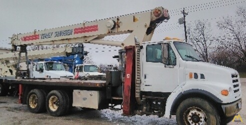 Terex BT 4792 23-ton Boom Truck Crane on Sterling 2