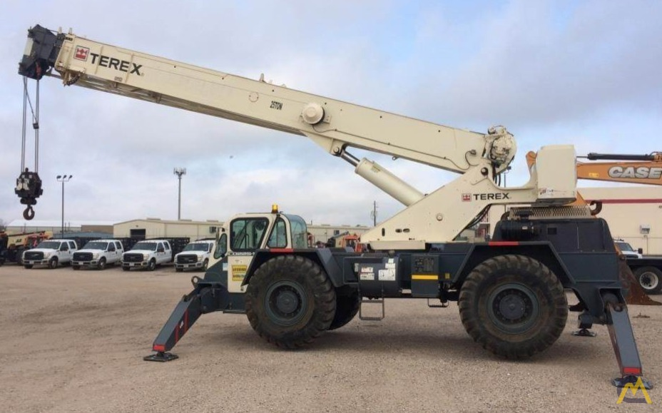 Terex CD225 25-Ton Down Cab Rough Terrain Crane 0