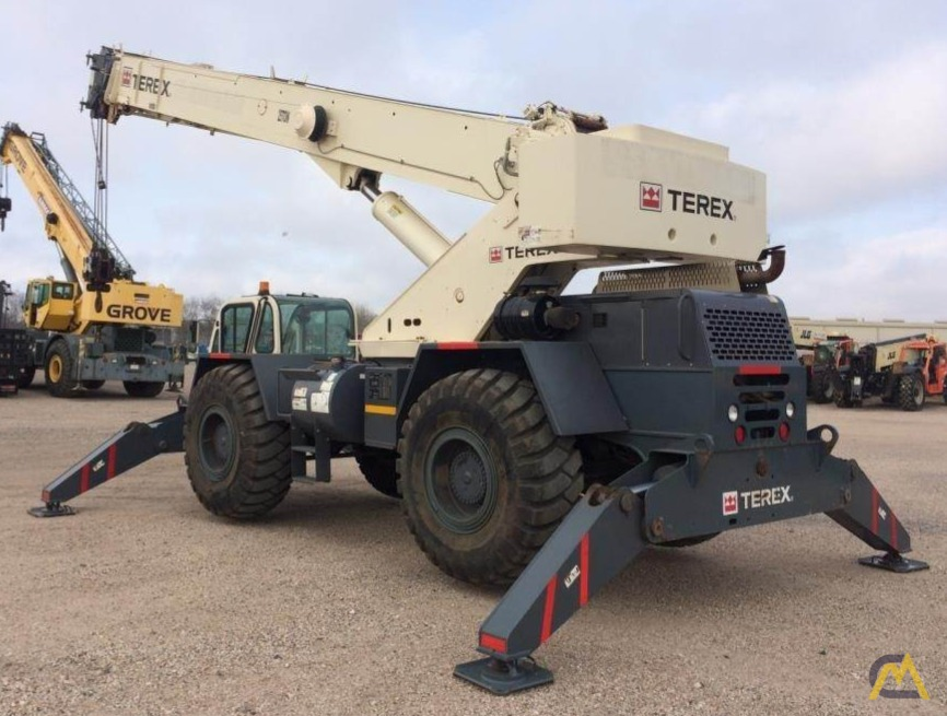 Terex CD225 25-Ton Down Cab Rough Terrain Crane 5