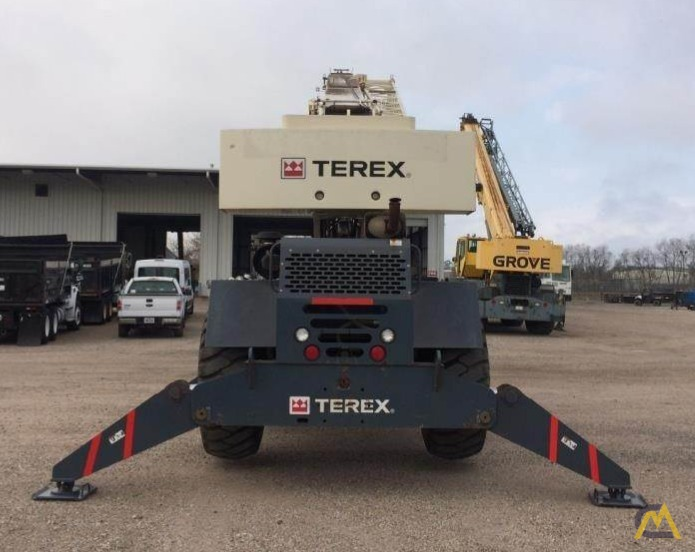 Terex CD225 25-Ton Down Cab Rough Terrain Crane 8