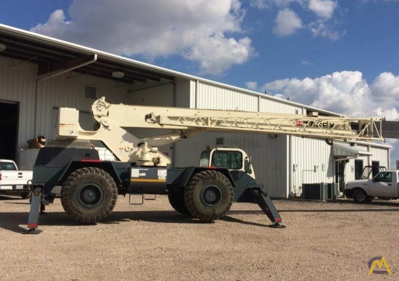 Terex CD225 25-Ton Down Cab Rough Terrain Crane 9