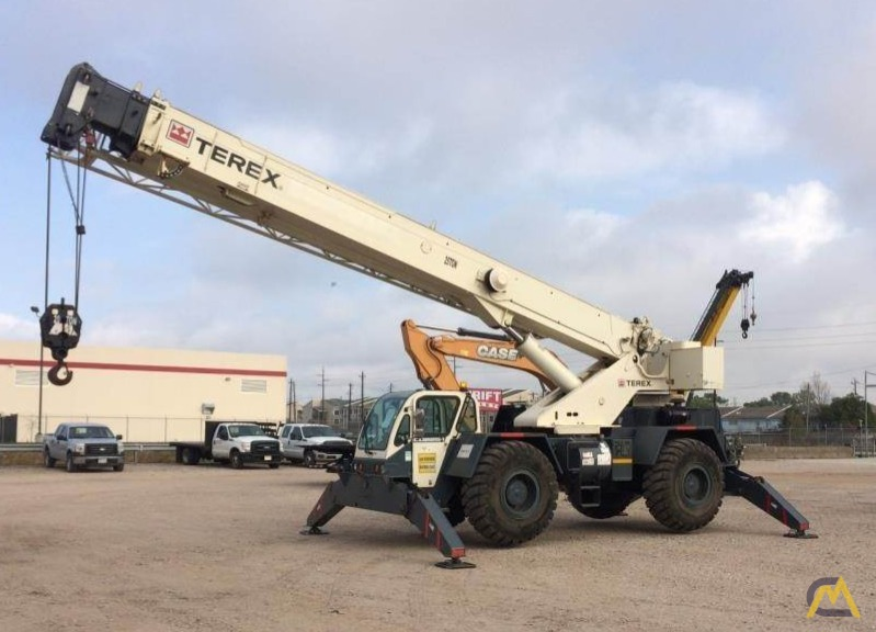 Terex CD225 25-Ton Down Cab Rough Terrain Crane 2