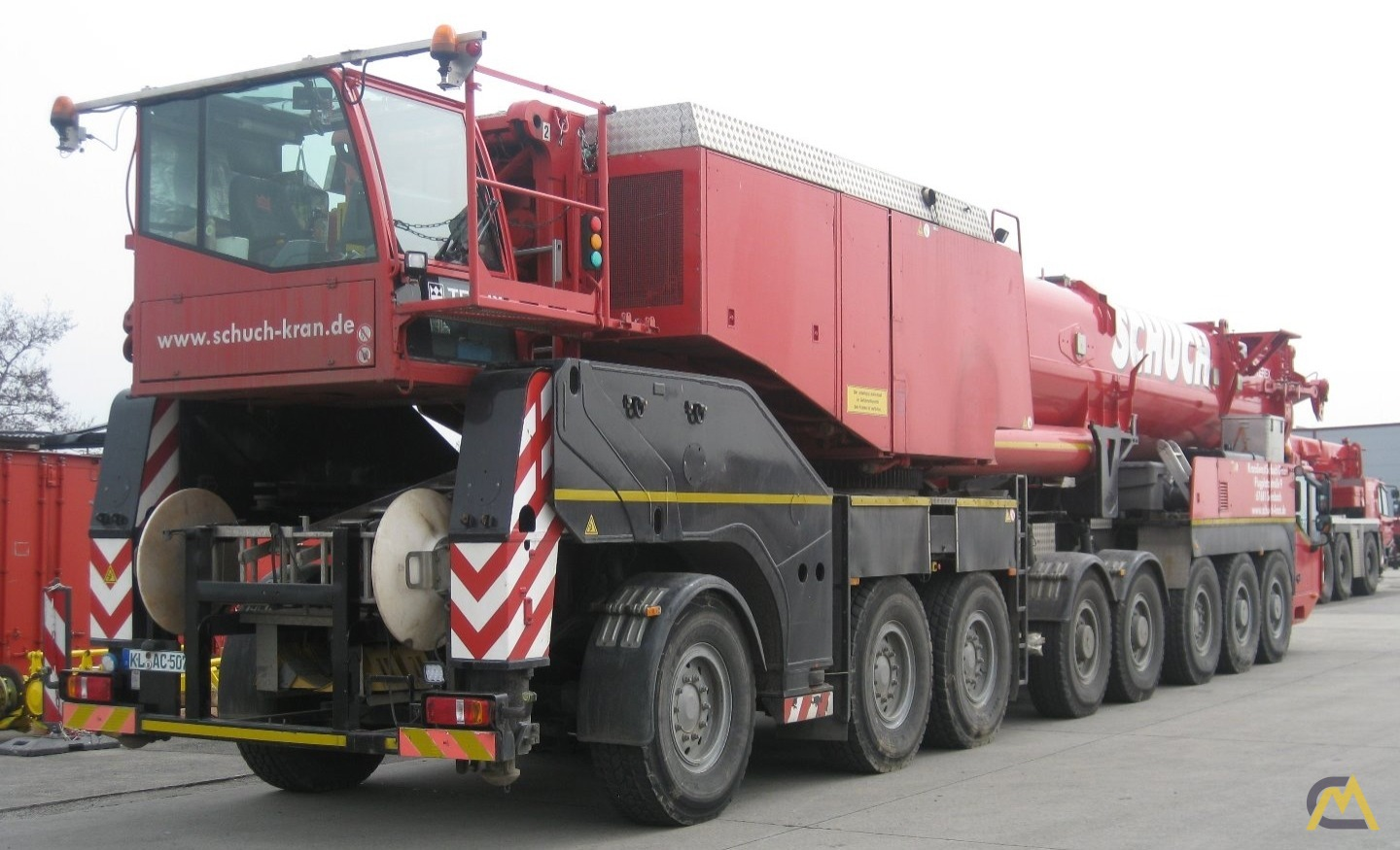 Terex Demag AC 500-2 SSL 550-ton All Terrain Crane 1