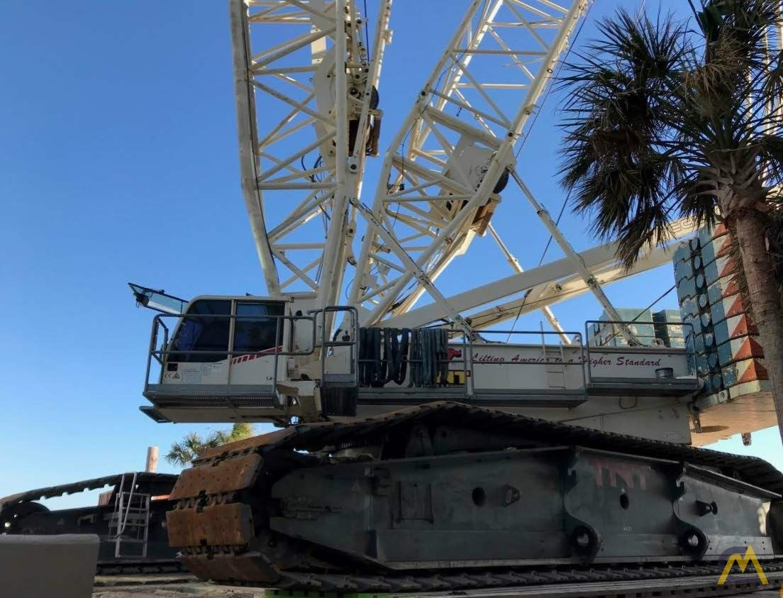 Terex-Demag CC 2800-1 660-ton Lattice Boom Crawler Crane 0