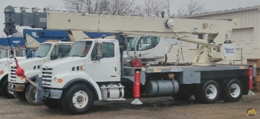 Terex RS 70100 35-ton Boom Truck on Sterling 0