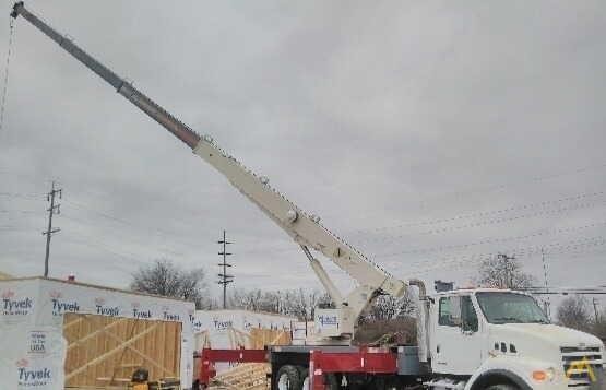 Terex RS 70100 35-ton Boom Truck on Sterling 1