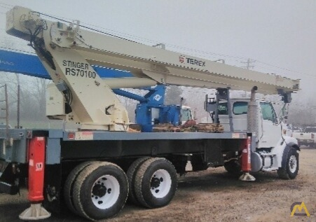 Terex RS 70100 35-ton Boom Truck on Sterling 2