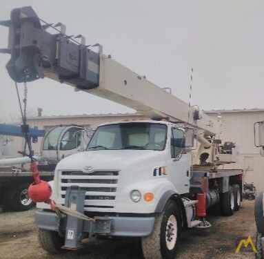 Terex RS 70100 35-ton Boom Truck on Sterling 4