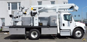 Dur-A-Lift DPM2-52 1,000 lb Bucket Truck on Freightliner M2106