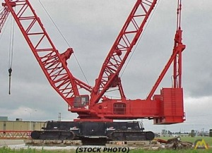 1,000t Manitowoc 21000 Lattice Boom Crawler Crane