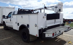 1.6-Ton Liftmoore Service Truck Crane on Ford F-30 Mechanics Truck