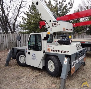 10.5t Shuttllelift 3340B Carry Deck Crane