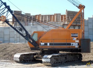 American 7260 100-Ton Lattice Boom Crawler Crane