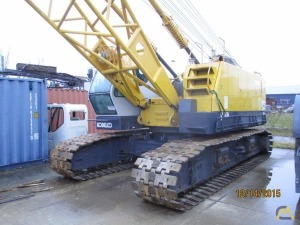 Kobelco CK1000-III 100-Ton Lattice Boom Crawler Crane