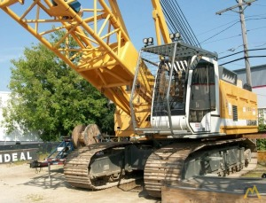 100t Liebherr HS 855 HD Duty Cycle Crawler Crane