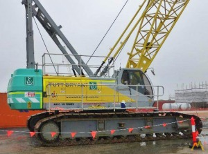 Sumitomo SC1000-2S 100-ton Lattice Boom Crawler Crane