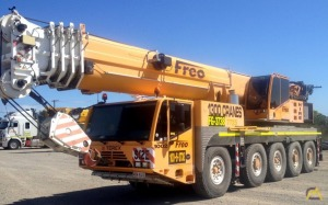 100t Terex Demag AC 100 All Terrain Crane