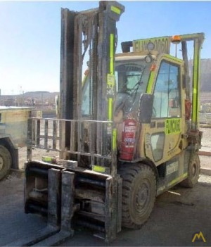 11,000# Hyster H110FT Big Wheel Lift Truck