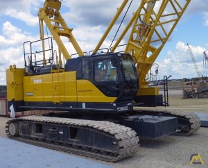 Kobelco CK1100G 100-Ton Lattice Boom Crawler Crane