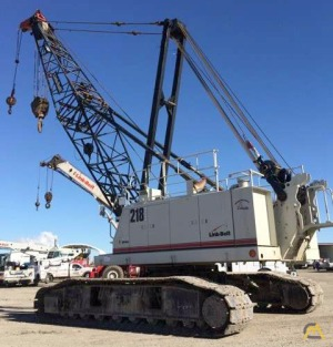 Link-Belt 218 HSL 110-Ton Lattice Boom Crawler Crane