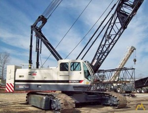 Terex HC 110 110-ton Lattice Boom Crawler Crane