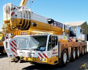 110t Terex Demag AC 110 All Terrain Crane